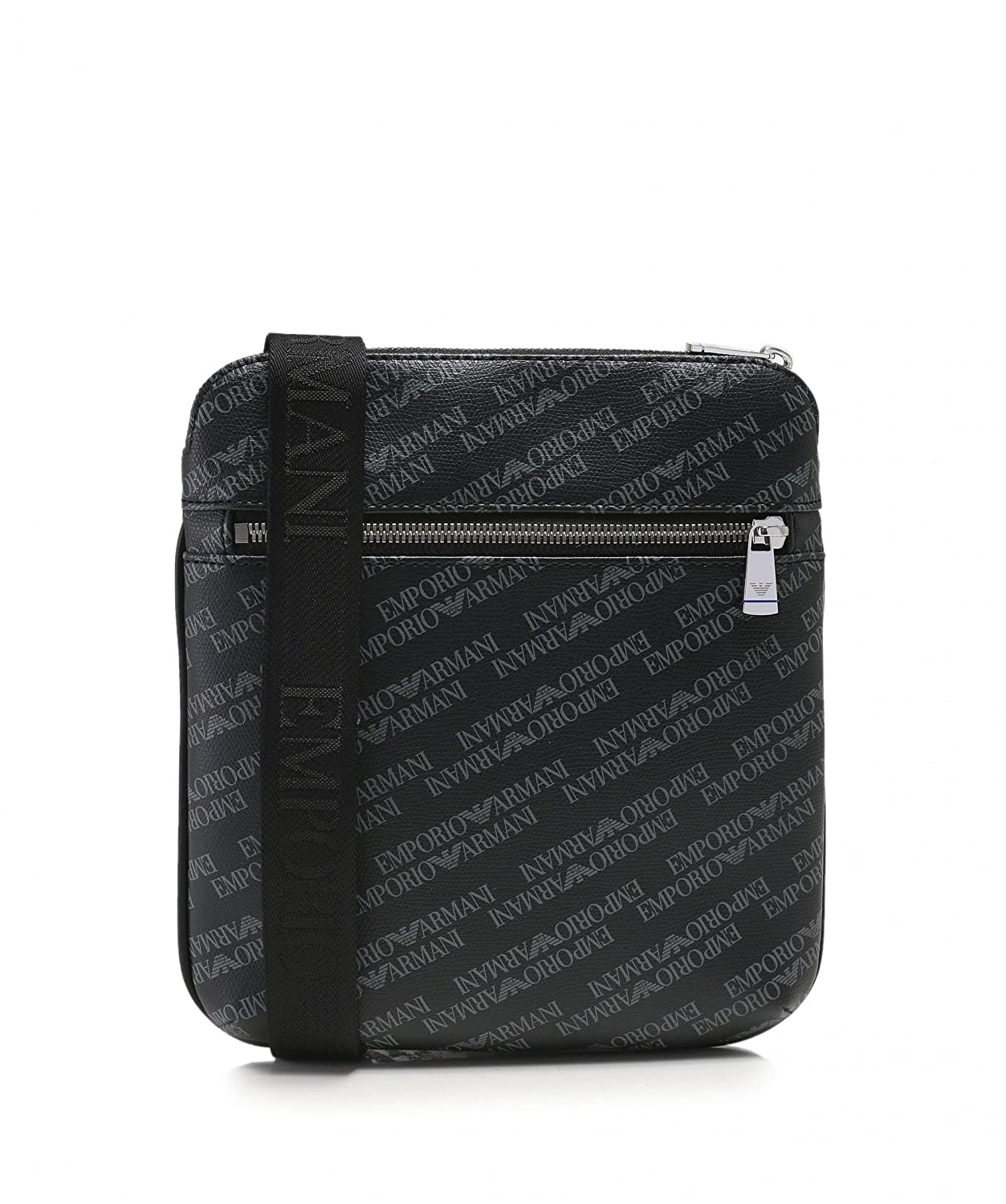 141905f5aeff8 EMPORIO ARMANI Logo Print Pouch Black One Size  Armani  Amazon.co.uk   Clothing
