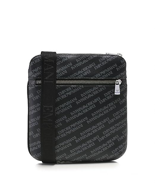06471995780 Emporio Armani Logo Print Pouch Black One Size  Armani  Amazon.co.uk   Clothing
