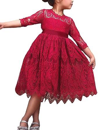 Genieße den niedrigsten Preis gesamte Sammlung auf Füßen Bilder von FStory&Winyee FStory&Winyee Mädchen Kleid Spitze Vintage ...