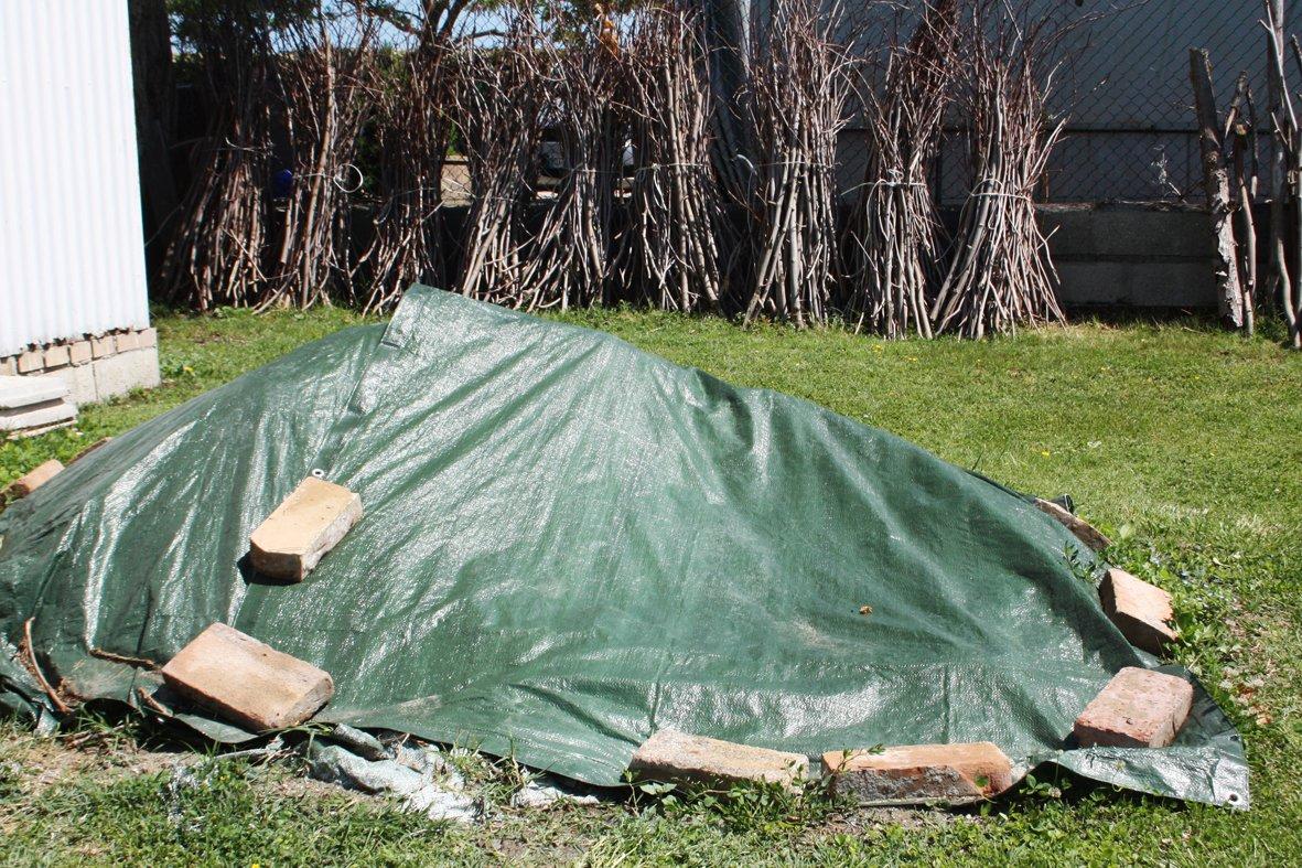 Ferpro 0300152 Labor B/âche en PVC renforc/é avec /œillets vert 68290