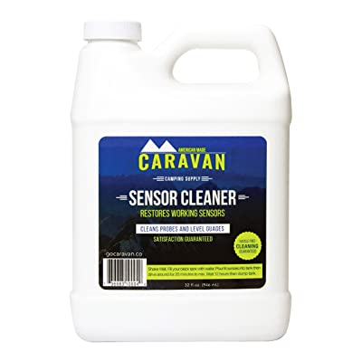 "Caravan ""overnight"" RV Sensor and Tank CLEANER - Fix sensors, clear toilet and tank clogs, eco-friendly, probiotic bacteria enzyme formula, RV & marine, black & gray, microbial-based plumbing solution: Automotive"