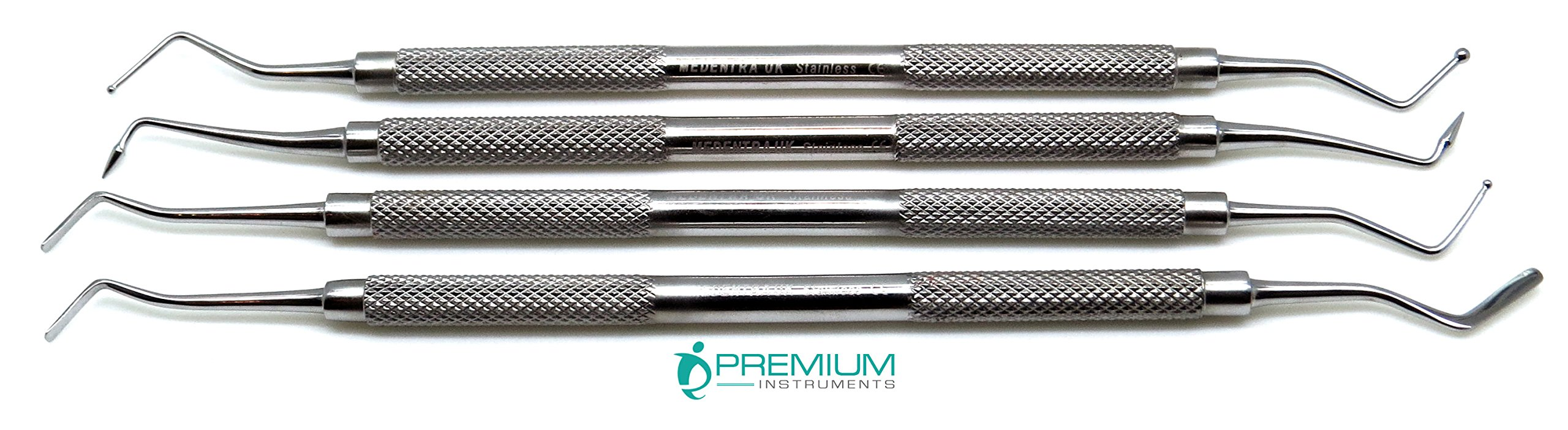 Composite Filling Set of 4 Dental Restorative Premium Instrument