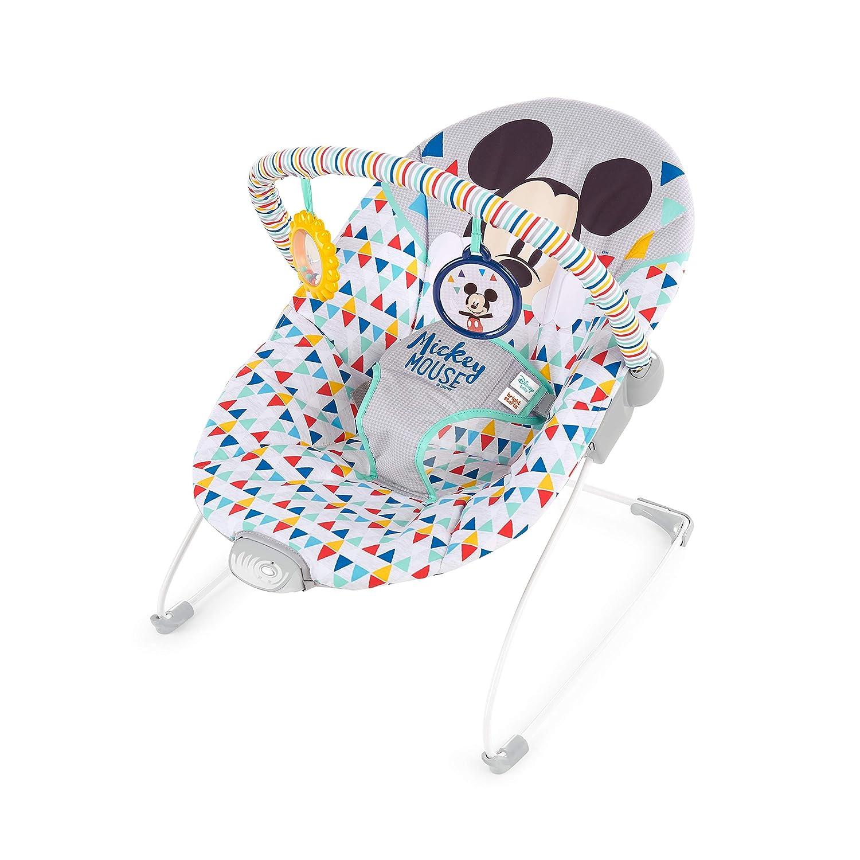 Amazon.com: Disney Mickey Mouse Happy Triangles Cradling ...