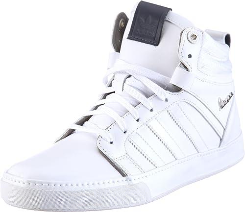 Electrónico Amedrentador Jadeo  adidas Originals Men's Vespa PX 2 MID Low-Top Sneakers White Size: 8:  Amazon.co.uk: Shoes & Bags