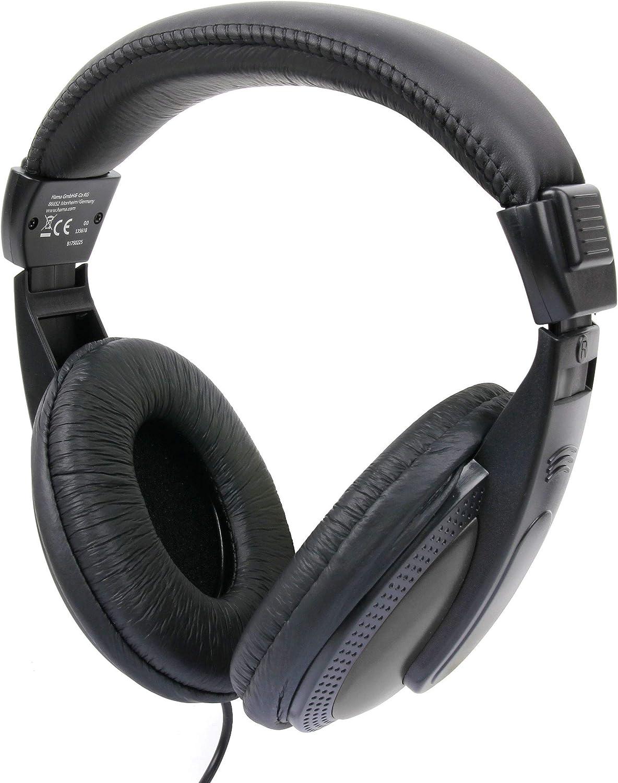 DURAGADGET Auriculares De Diadema para Teclado/Piano Digital CASIO CTK-2500 / Casio Ctk-4400 / Casio CTK-3500: Amazon.es: Electrónica