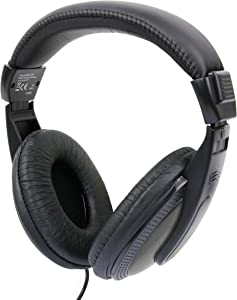 DURAGADGET Lightweight & Supreme Comfort Over-Ear Headphones - Compatible with Acer Chromebook Series C7 & Acer Chromebook C720