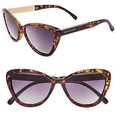 "1c1e5fe5a3a PRIVÉ REVAUX ICON Collection ""The Hepburn"" Designer Polarized Retro Cat-Eye  Sunglasses"