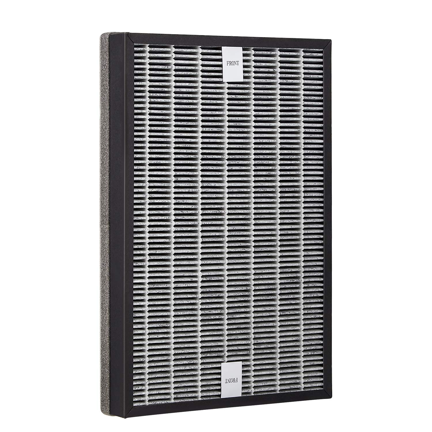 BEAUTURAL Air Purifier Replacement Compound Filters with True HEPA and Activated Carbon Filters