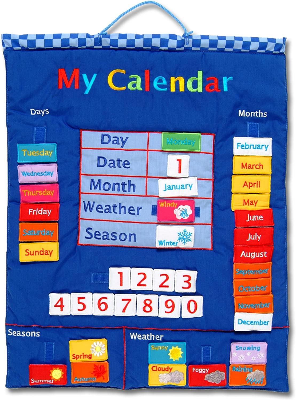 Wallhangings - Calendario de Tela para Pared (en inglés): My ...