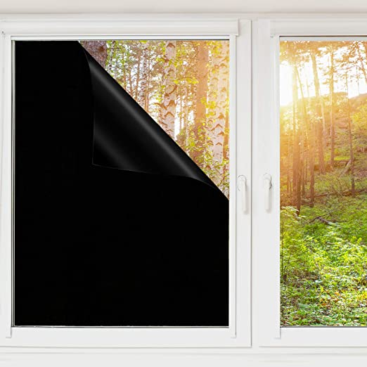 Amazon.com: Uiter Blackout Window Film - Privacy Static Cling ...
