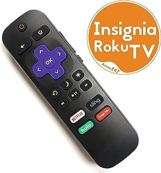 Insignia ROKU - Mando a Distancia de Repuesto para TV (con Control ...