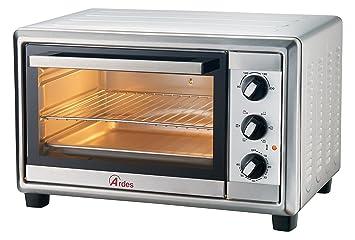 Ardes Mini horno eléctrico de convección plata 24 L, ...
