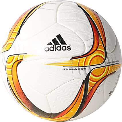 adidas UEL OBM Balón, Hombre, Blanco/Dorado/Rojo/Negro, 5: Amazon ...
