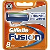 Ancienne version - Gillette Fusion Pack de 8 Recharges