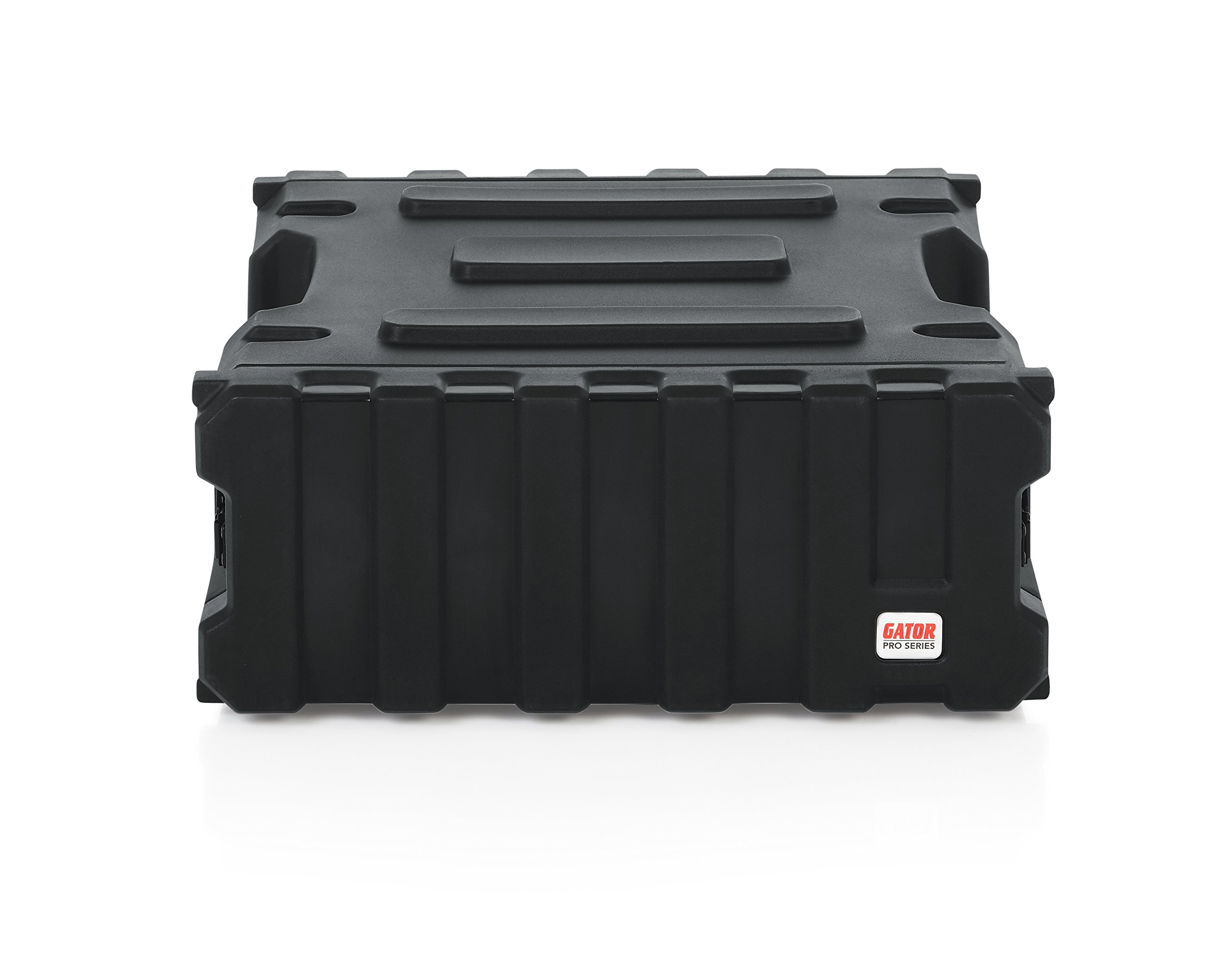 Gator Cases Pro Series Rotationally Molded 4U Rack Case with Standard 19'' Depth; Made in USA (G-PRO-4U-19) by Gator