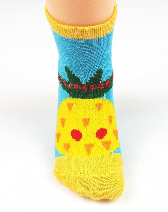 Multicolore JT-Amigo Baby-Sock-12Pairs-Set3 0-3 anni Calzini Antiscivolo per Bambini e Neonati Confezione da 12 Paia