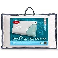 Tontine T2869 Comfortech Gel Infused Memory Foam Pillow,Medium