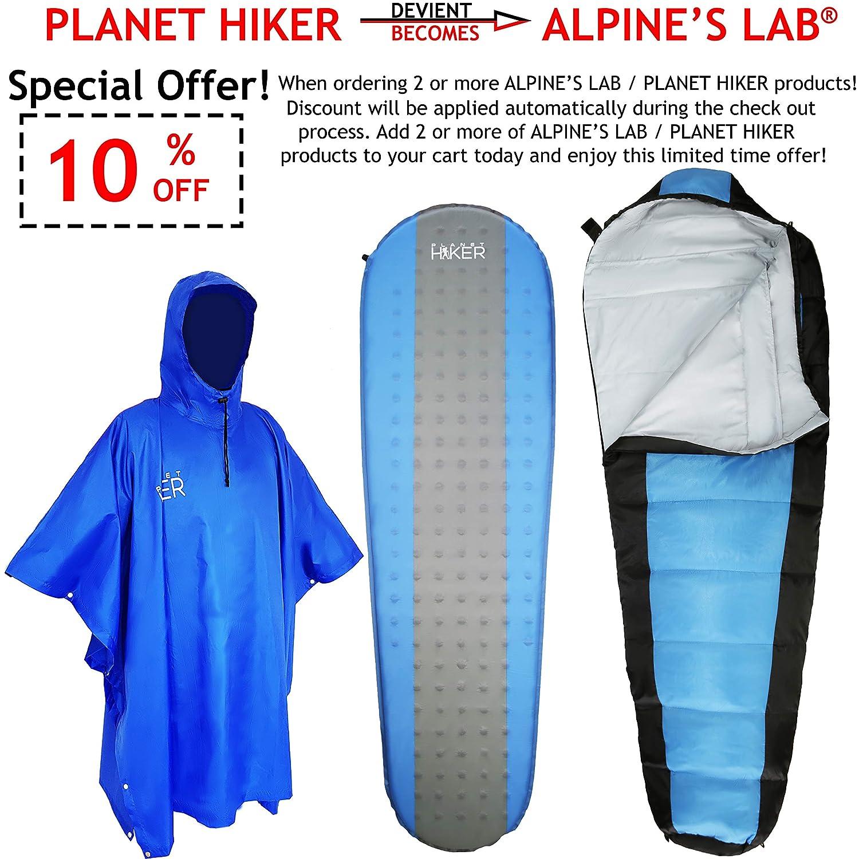 Sac de Compression Imperm/éable Jumelable Alpine/'s Lab Sac de Couchage Adulte Hiver Duvet Grand Froid Chaud et Compact de Camping