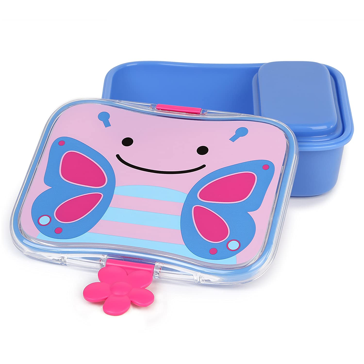 Skip Hop Toddler Mealtime Lunch Kit Feeding Set, Butterfly