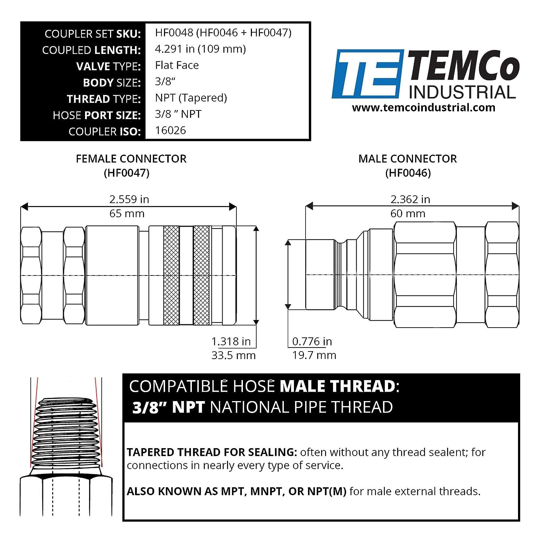 1-1//16-12 JIC Thread x M27 x 1.5 Metric Thread Midland 7005-12-27 Steel Male Connector