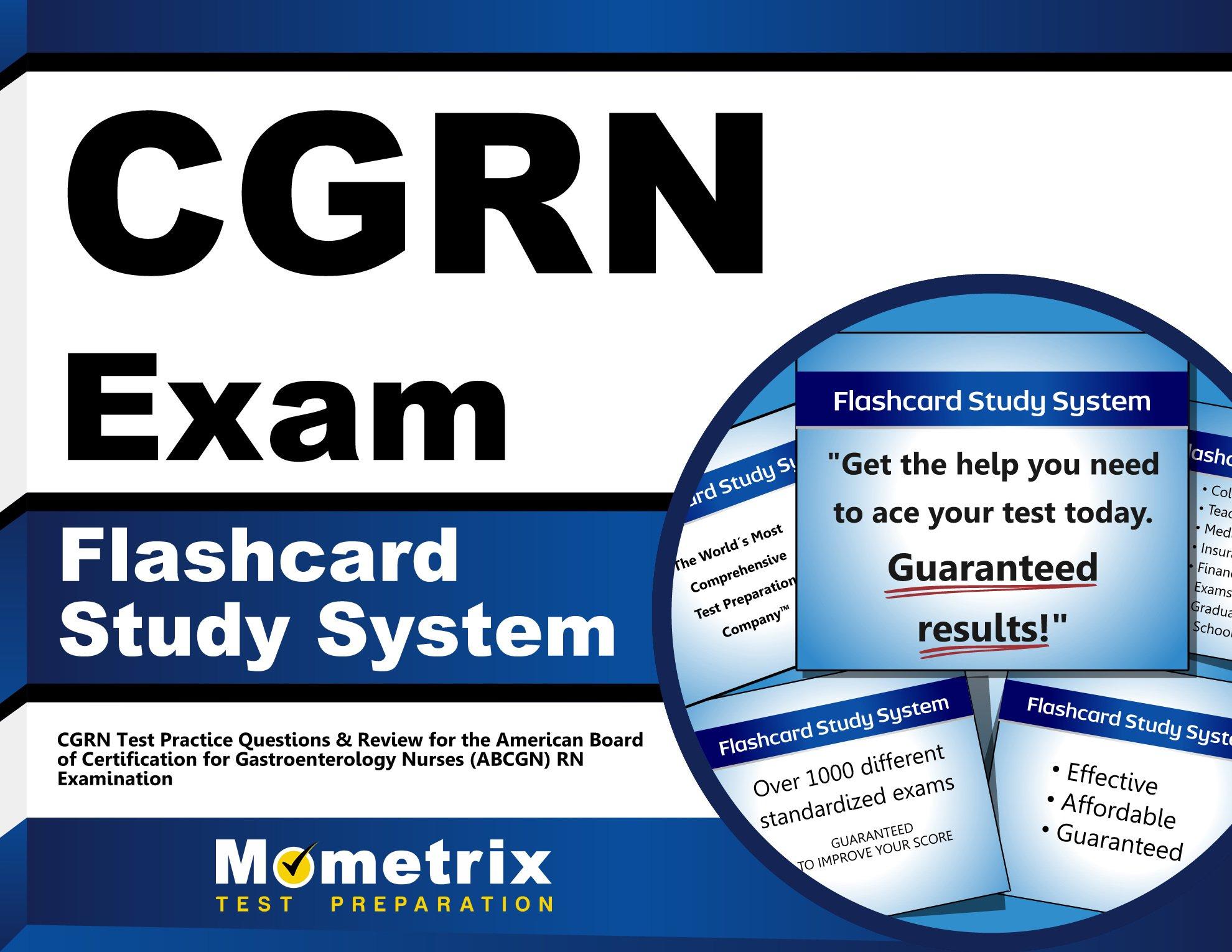Buy Cgrn Exam Flashcard Study System Cgrn Test Practice Questions