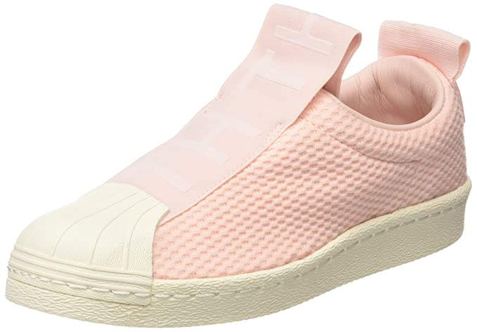 sale retailer 4f747 efa40 ... order adidas superstar slip on womens sneakers pink be1ad 808ee