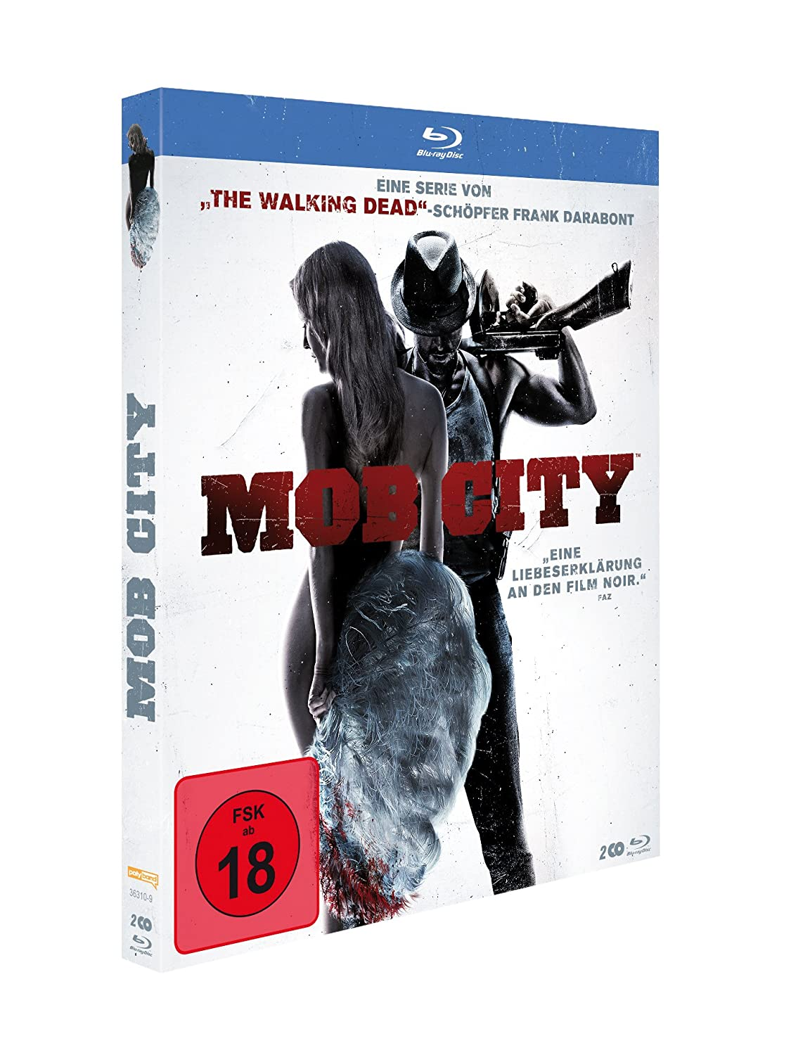 Mob City [Blu-ray]: Amazon.de: Jon Bernthal, Milo Ventimiglia, Simon ...