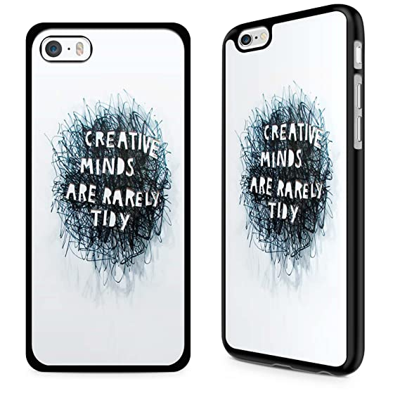 Gadget Zoo Famous Quote Motivational Saying U0026quot;Creative Mindsu0026quot; Funny  Phone Case Hard Cover