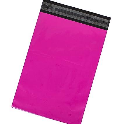 Bolsas de envío postal, 100 unidades, color hot pink 368 x ...