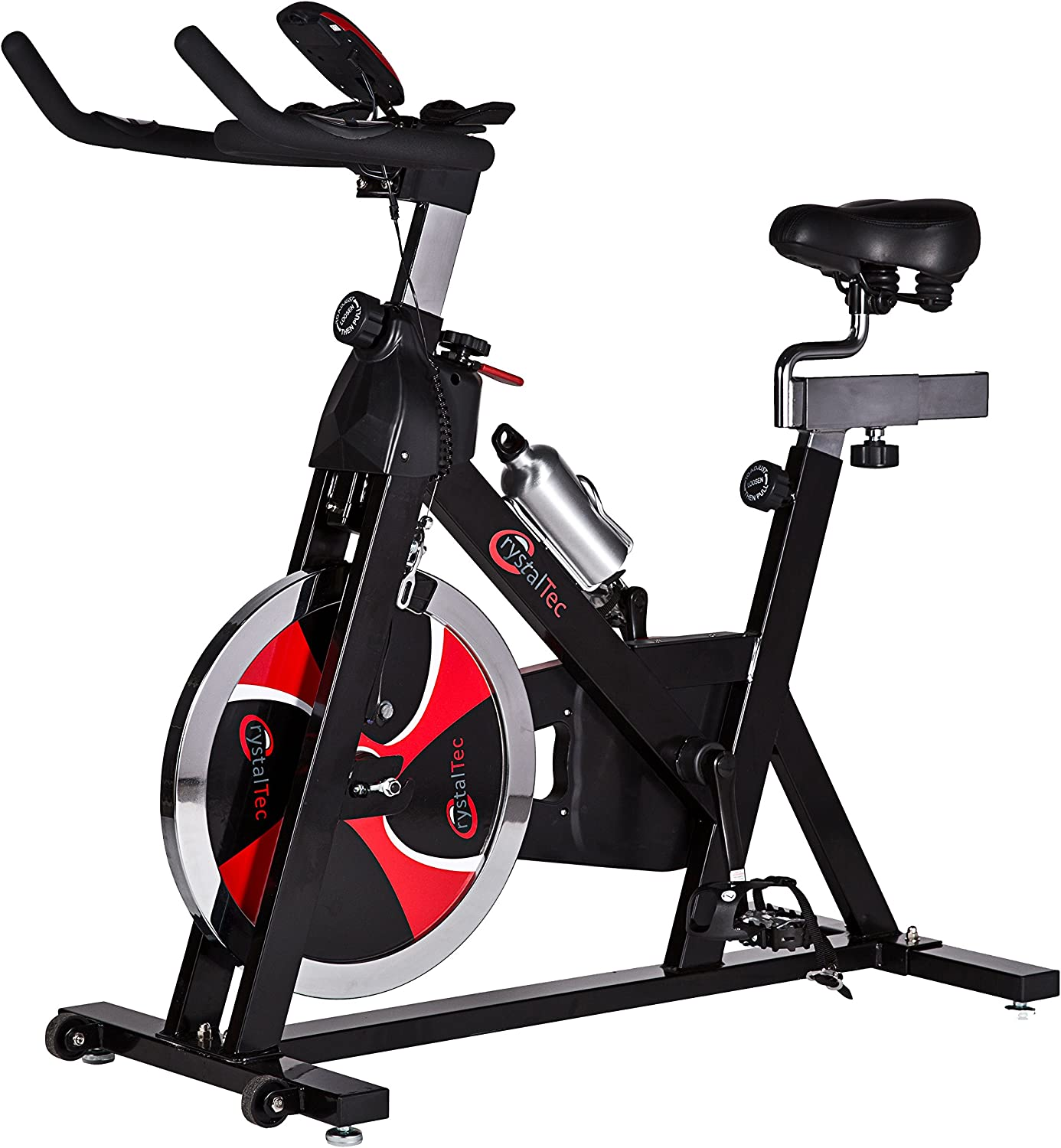 CrystalTec Aerobic Training Exercise Bike / Cycle: Amazon.es ...