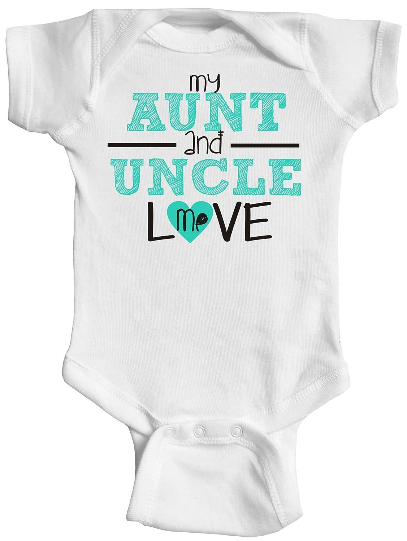 eefa0bada Amazon.com: My Aunt and Uncle Love Me, Baby Bodysuit: Clothing