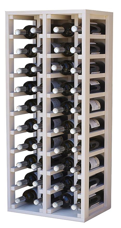 Expovinalia Botellero, 4 Modulos, Capacidad 40 Botellas, Madera ...