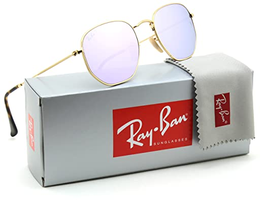 Ray-Ban RB3548N Hexagonal Flat Lenses Unisex Sunglasses 001 8O - 48mm a6790f75b4