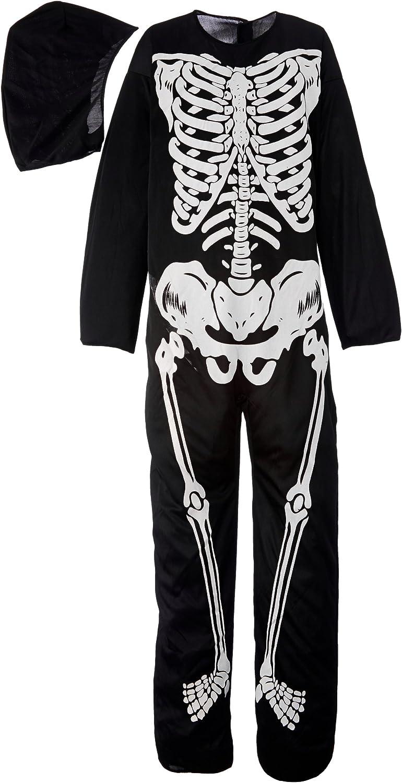 Rubbies - Disfraz de esqueleto para niño, talla 8-10 años (I ...
