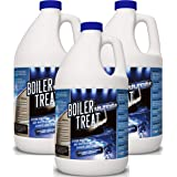 Boiler Water Treatment Chemicals - 3 Gallon Case | Prevents RUST & CORROSION in Steam Boilers, Hot Water Systems, Closed…