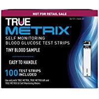 TRUE METRIX Blood Glucose Test Strips NFRS 100ct