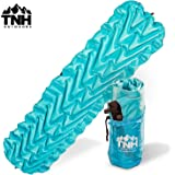 Lightweight Compact Sleeping Pad With Dual Baffle System And Superior Insulation Excellent For Hiking & Camping Heavy Duty And Durable Outer Skin