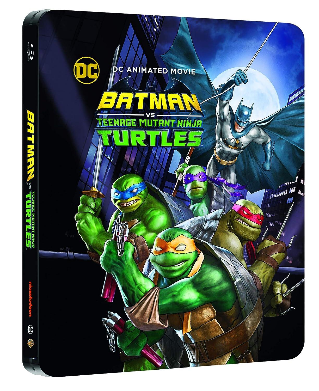Amazon.com: Batman vs Teenage Mutant NinjaTurtles Steelbook ...