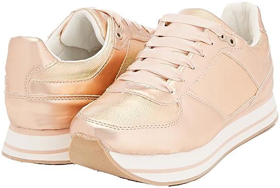 new arrival 61a83 918ed Sneaker Eu Italia Tata Donna Oro 40 it Infilare Amazon J1786 4BEqa