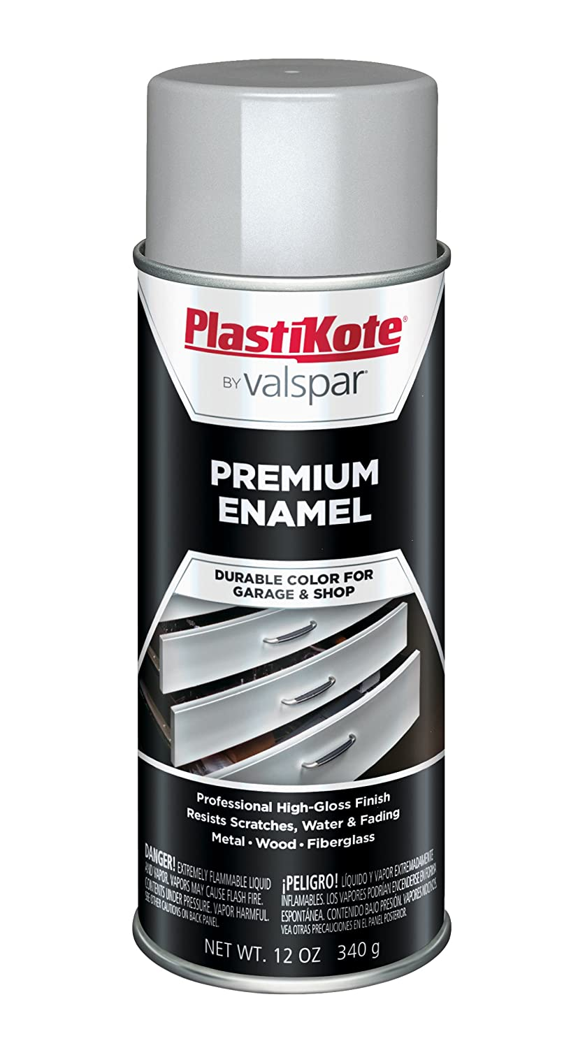 PlastiKote T-24 General Purpose Flat White Premium Enamel - 12 Oz.