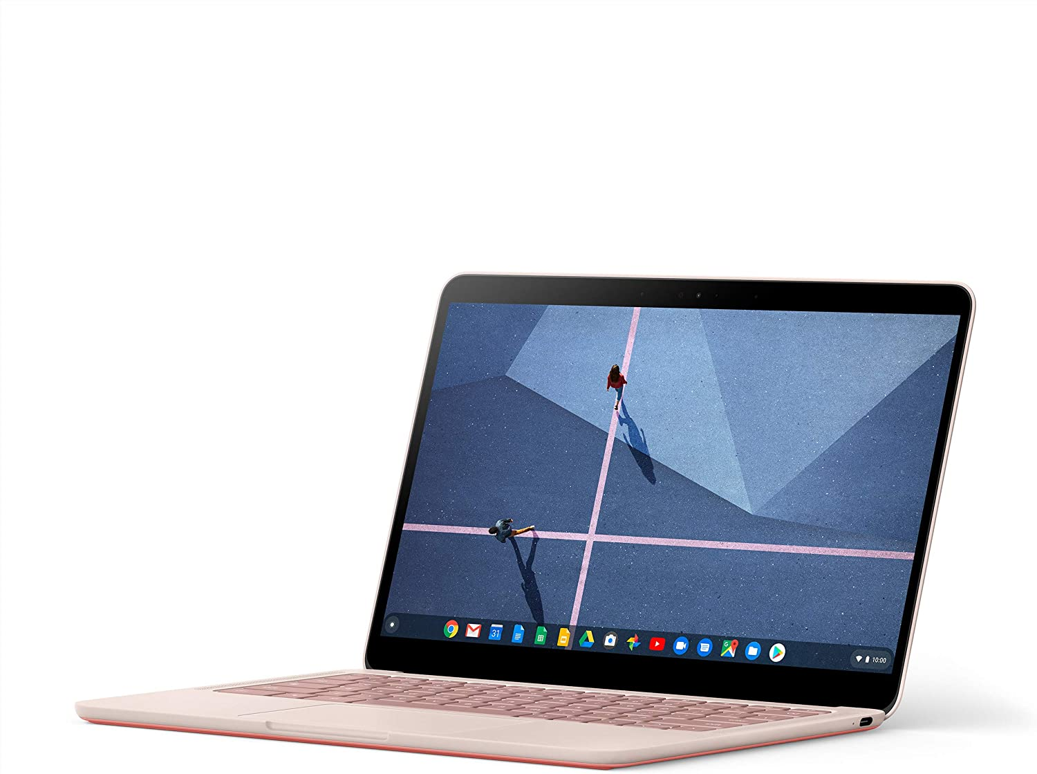 Google Pixelbook Go - Lightweight pink color Chromebook Laptop