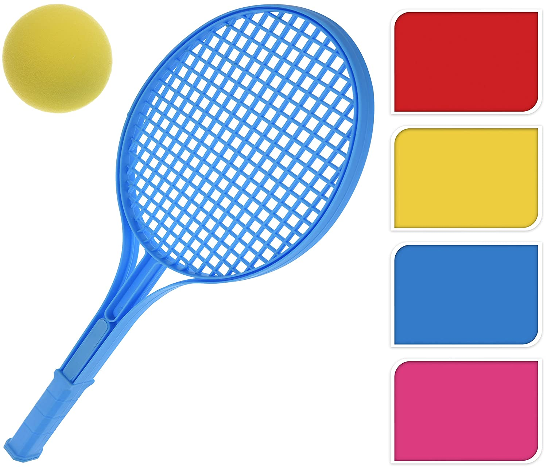 Bahia Vista giardino e tempo libero con palla da tennis in schiuma Set da soft tennis per spiaggia colori assortiti Rosa