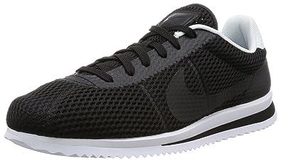 size 40 951ab aeb32 Nike Cortez Ultra BR, Chaussures de Sport Homme, Noir-Blanc, 44.5 EU