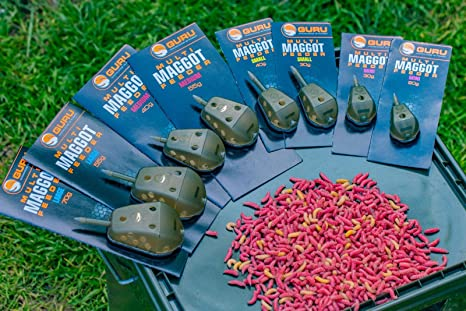 Drennan Carp Maggot swim Feeders = ALL SIZES