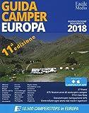Guida camper Europa 2018. Con app