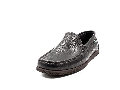 Zapato Hombre Tipo Mocasín Pitillos, Color Negro - 4850 -: Amazon.es: Zapatos y complementos
