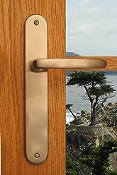 Sliding Door Handle Lockset Hardware Monterey Sliding Patio Door Lock In  Antique Nickel Finish