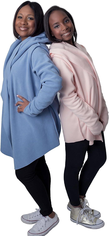 Womens Cozy Fleece Yoga wrap