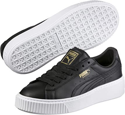 PUMA Basket Platform Core, Sneakers Basses Femme