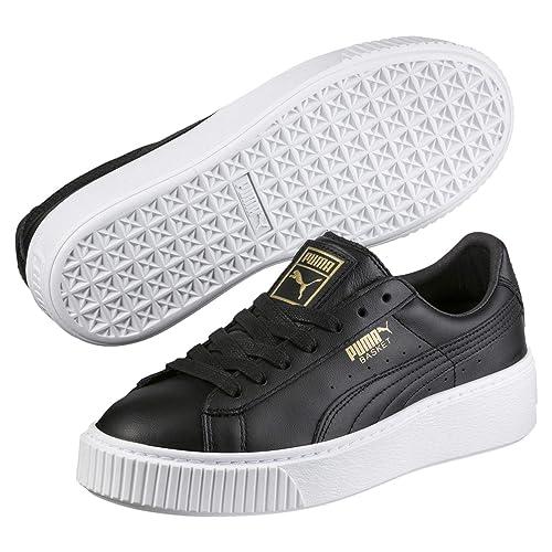 meilleur service c93f7 41d25 PUMA Basket Platform Core, Sneakers Basses Femme